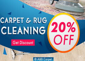 20 Percent OFF All Cleaning Service - A and B Carpet