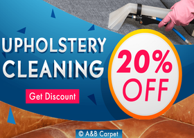 Upholstery Cleaning - A and B Carpet