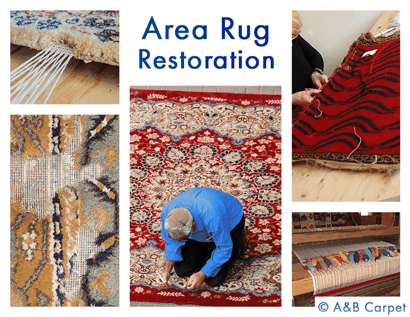 Rug Restoration - Beverly Square West 11226